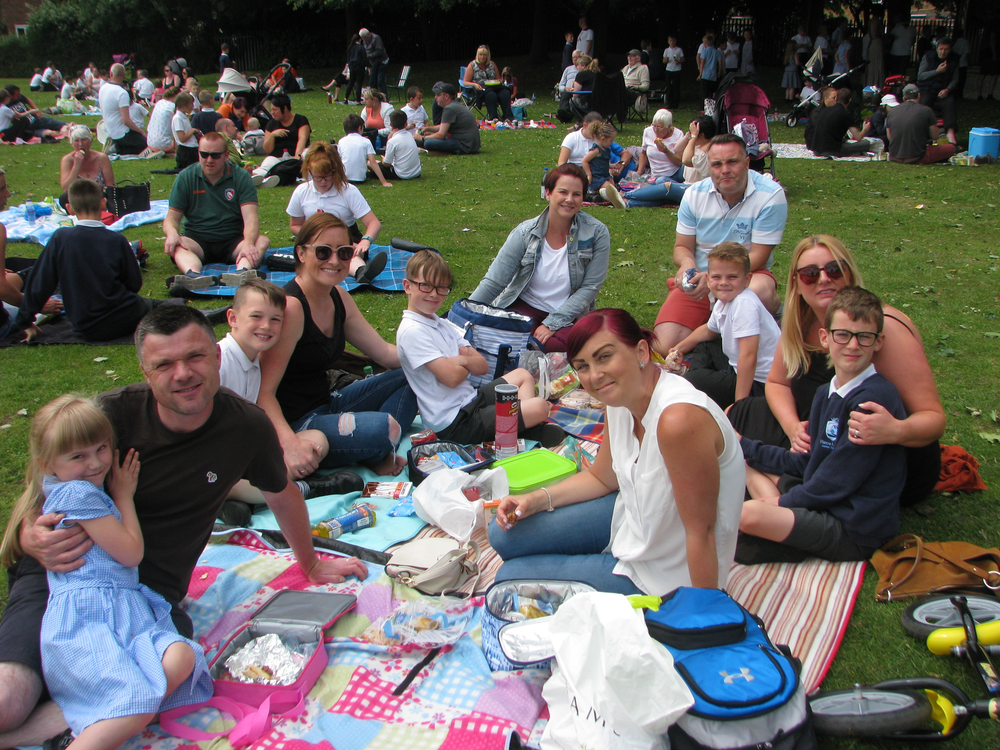 Father's Day Picnic and football match | Race Leys Junior ...
